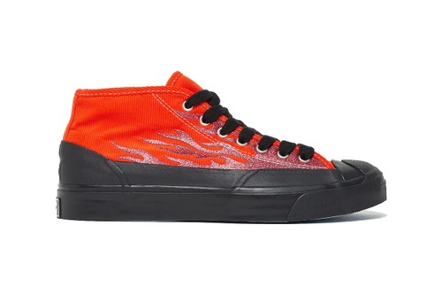 A$AP Nast and Converse Turn up the Heat With Second Jack Purcell Mid Collaboration