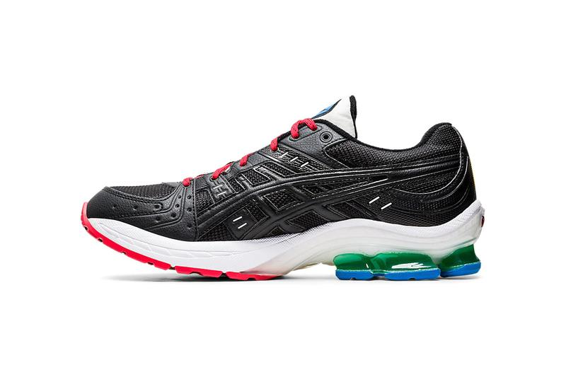 asics gel kinsei og multicolor 1021A281 001 black blue yellow red green white release date info photos price