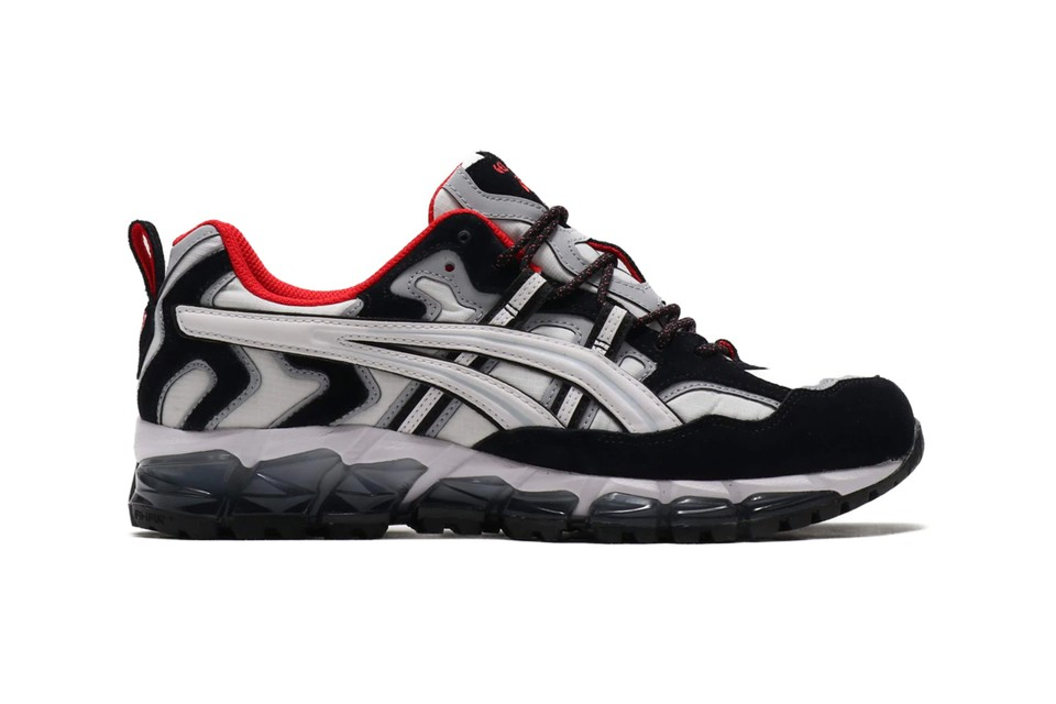 "ASICS GEL-Nandi 360 Updated in ""White/Black"" With Bold Red Highlights"