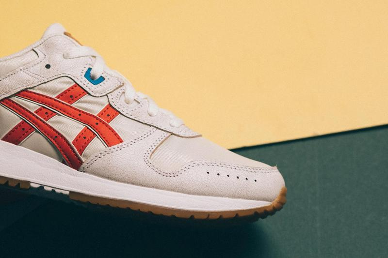 asics lyte classic retro tokyo cream white blue release date info photos price colorway sneaker retro