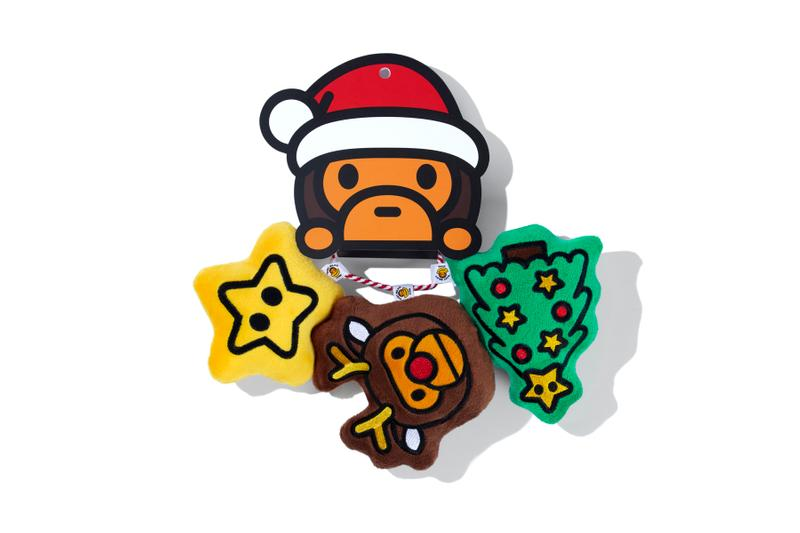 Baby Milo Holiday 2019 Collection bape a bathing ape pets cats dogs accessories home decor