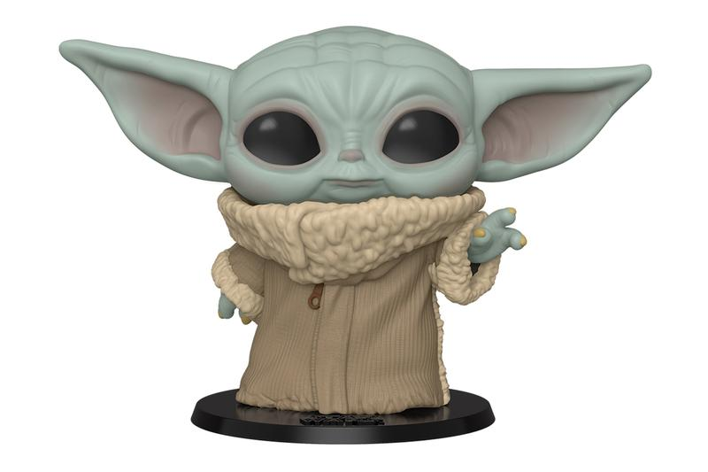 funko pop baby yoda the child mandalorian star wars collectibles toy figure disney plus