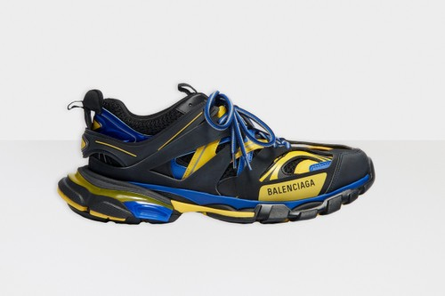 Balenciaga Track.2 Releases In Black, Yellow and Blue