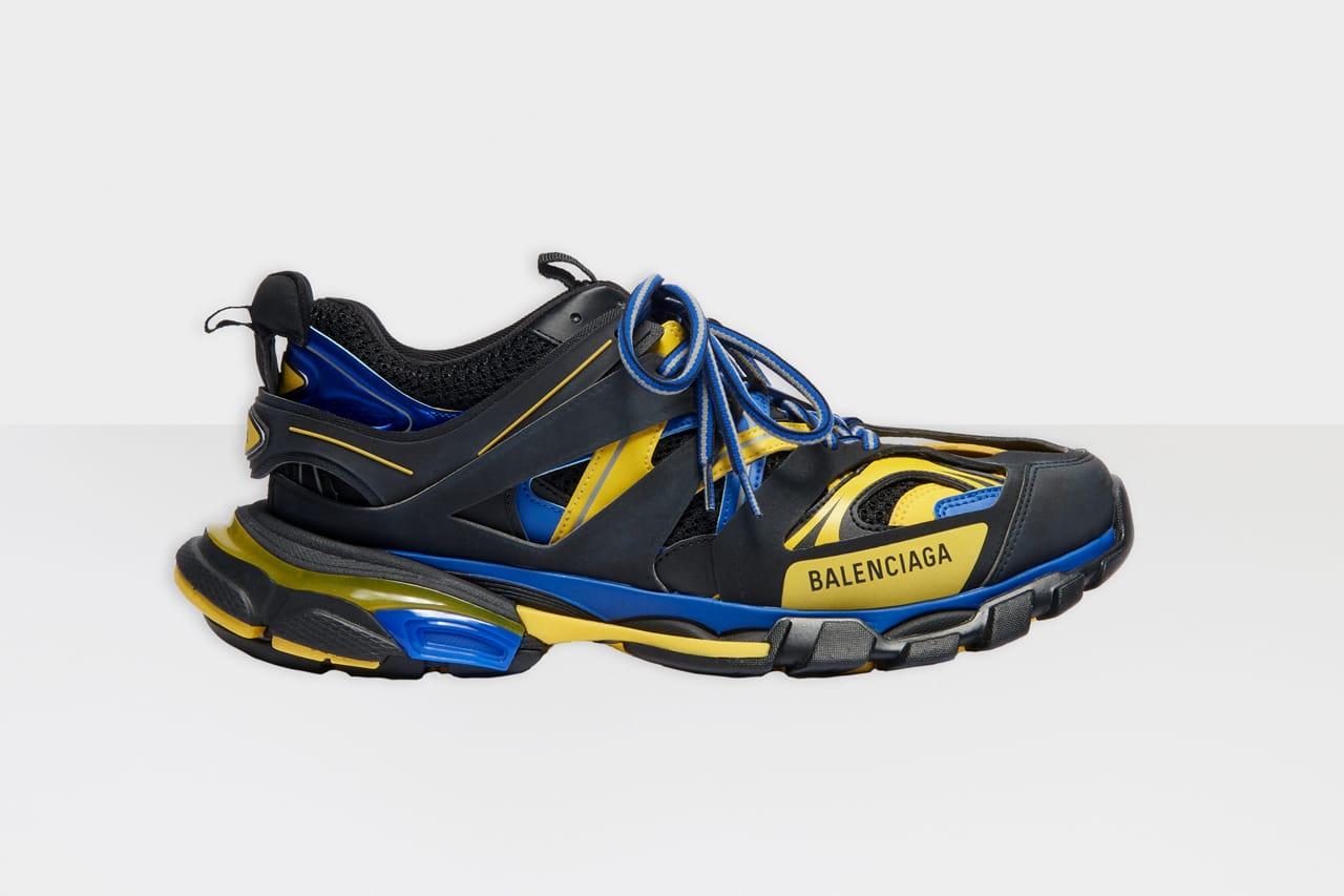 Balenciaga Track.2 Black, Yellow \u0026 Blue