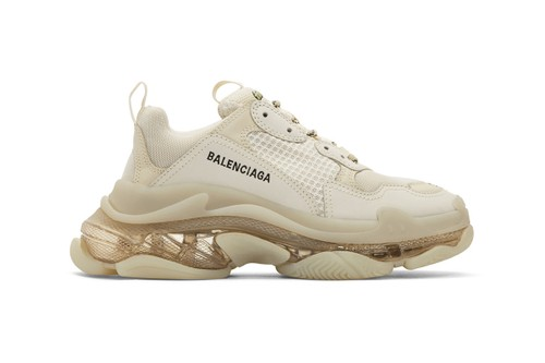 "Balenciaga's Latest Triple-S Opts for Subtle ""Off-White"" Colorway"