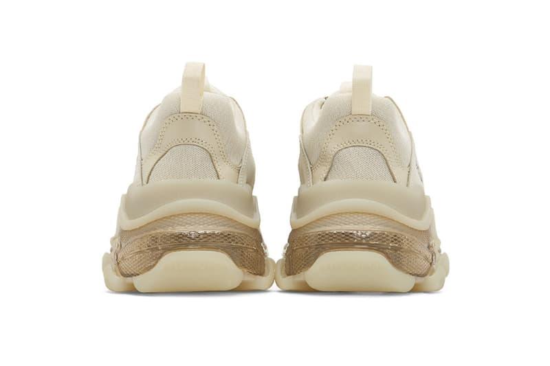 "Balenciaga Triple-S ""Off-White"" Sneaker Release Where to buy Price 2019"