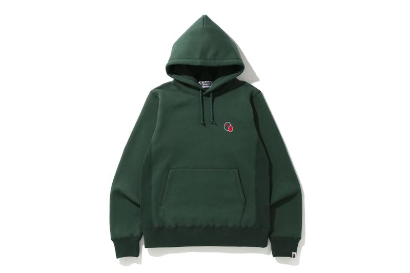 BAPE Christmas 2019 Collection a bathing ape t-shirts hoodies green red white baby milo x'mas stocking