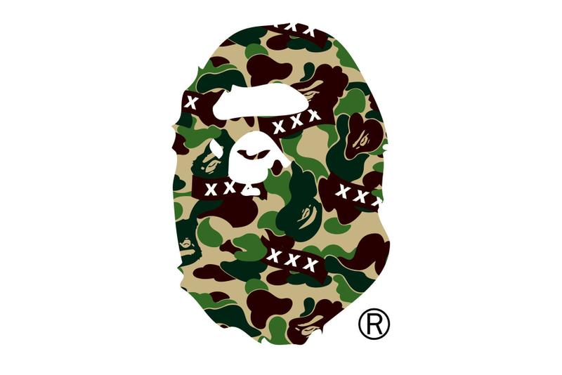 GOD SELECTION XXX x BAPE Capsule Collection collaborations t-shirts shark hoodies baby milo