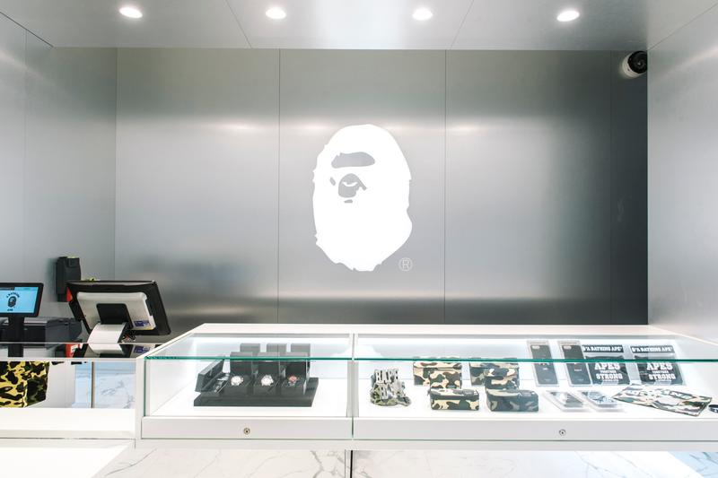 BAPE Announces New Miami Store retail location a bathing ape miami heat