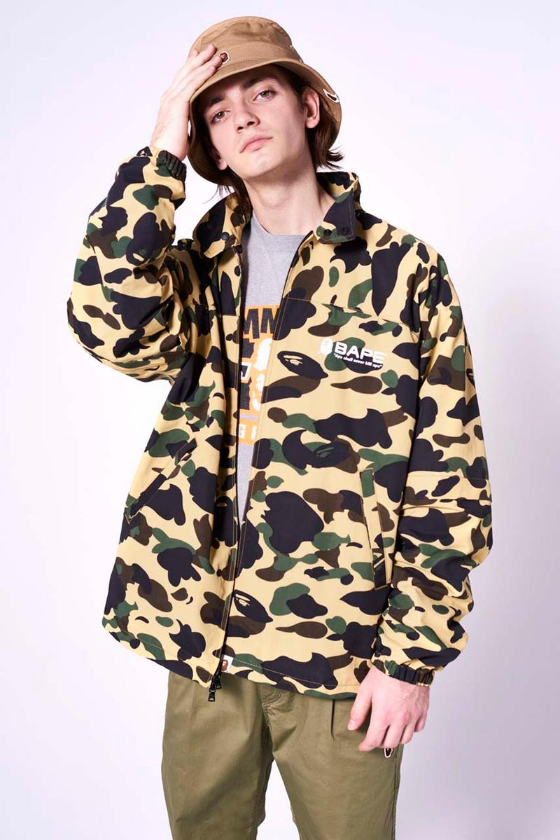 BAPE Spring/Summer 2020 Collection Lookbook ss20 japan release date ape head logo menswear camouflage