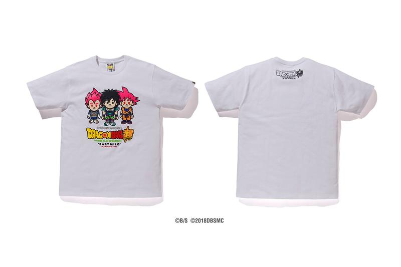 Baby Milo x DRAGON BALL SUPER: BROLY Capsule hoodies japan IT Broly Goku Vegeta Frieza shirts streetwear Nigo Dragon Ball Movies
