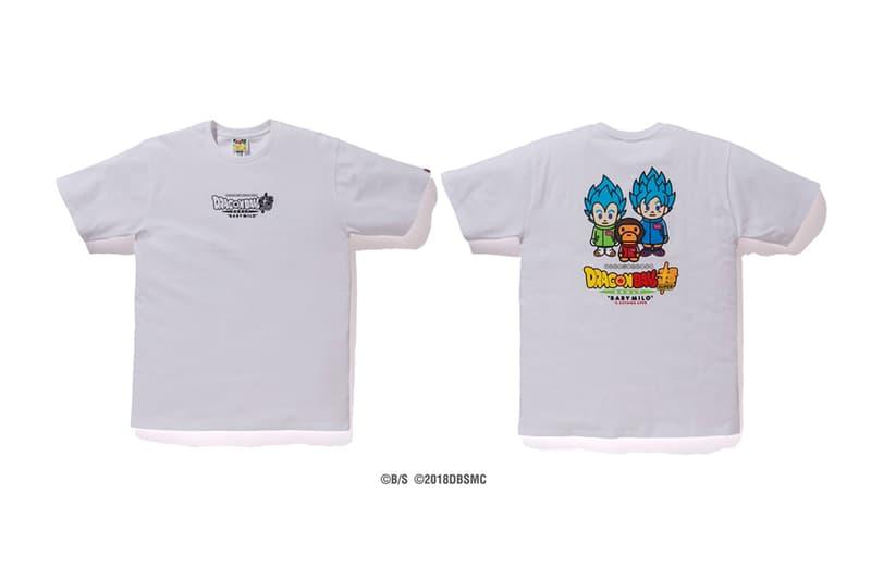 Baby Milo x DRAGON BALL SUPER: BROLY Capsule hoodies japan IT Broly Goku Vegeta Frieza shirts streetwear Nigo Dragon Ball Movies