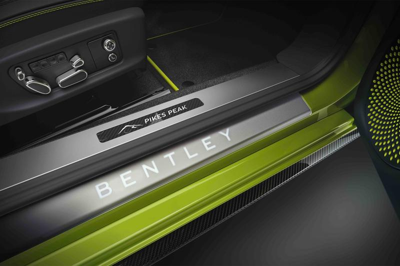 bentley centenary 100th anniversary pikes peak international hill climb 2019 continental gt record breaking production car