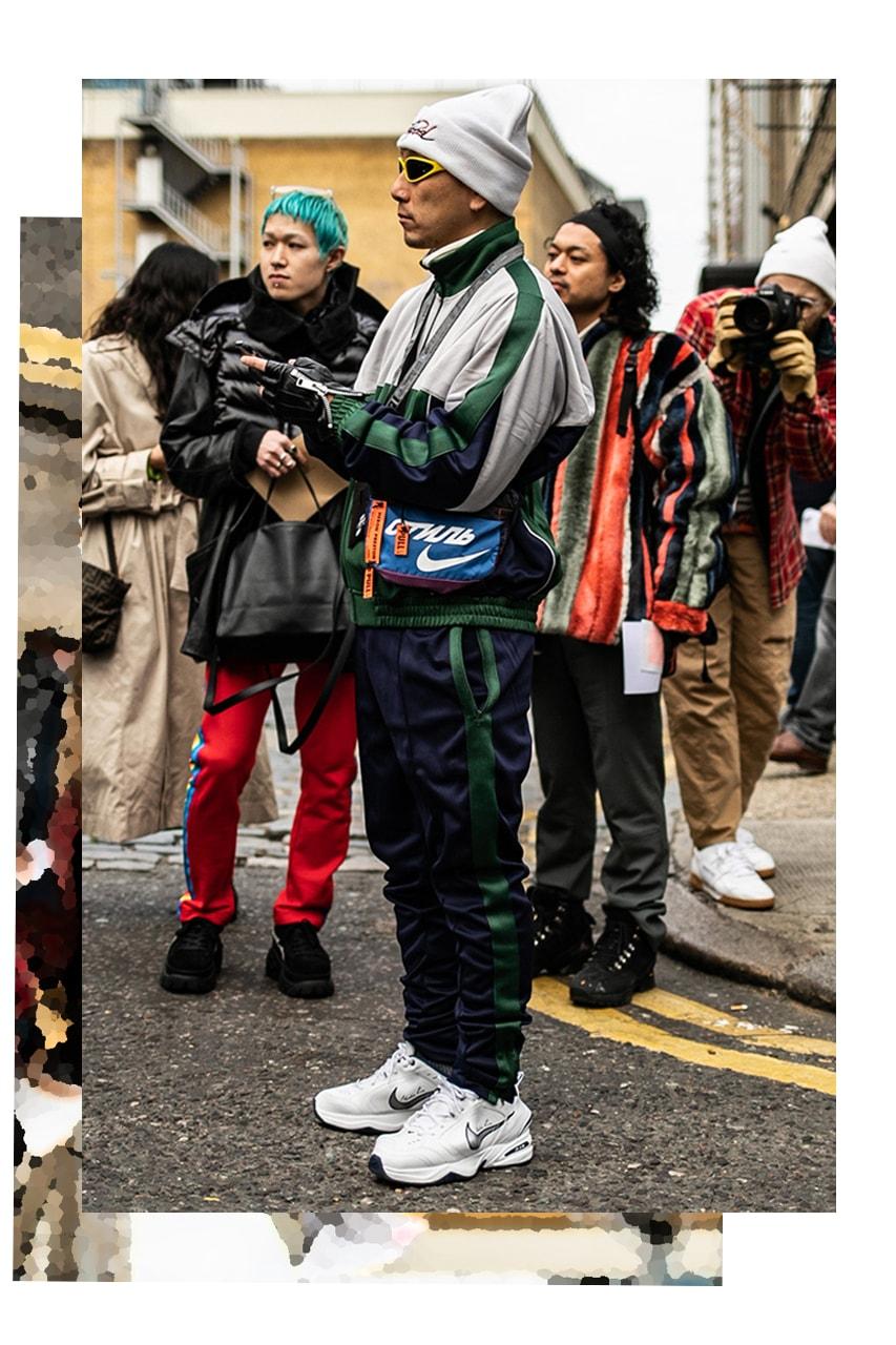 athleisure streetwear collaborations decade best of year 2019 2010s 2020 trends fashion designer logo logomania sustainability nike supreme kanye west ugly shoes dad kim kardashian millennial pink