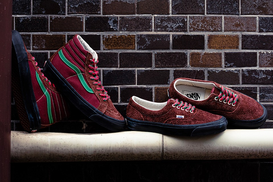 """BILLY'S & Vans Revamp Classic Silhouettes in Burnished """"Andorra/Russet Brown"""" Tones"""