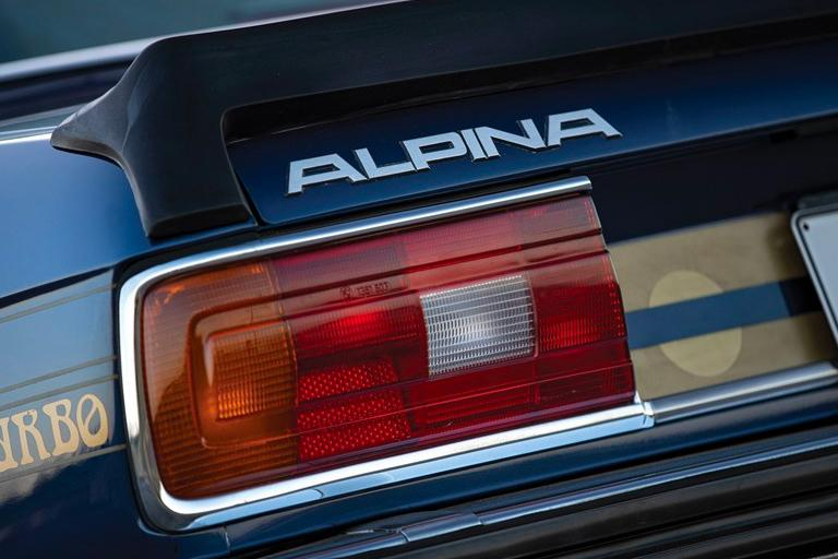 1982 BMW Alpina B7 S Turbo RM Sotheby's Auction coupe ferrari race car bid buy now paris japan WBACJ710XB6579934 330 bhp and 500 Nm of torque specs info service history