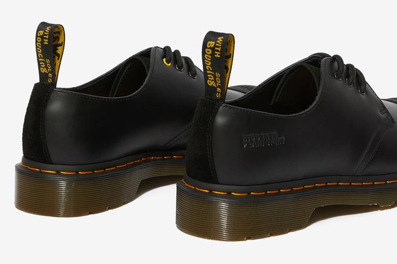 Bodega Dr Martens 1461 Smooth Release Black Info Date Buy Collaboration