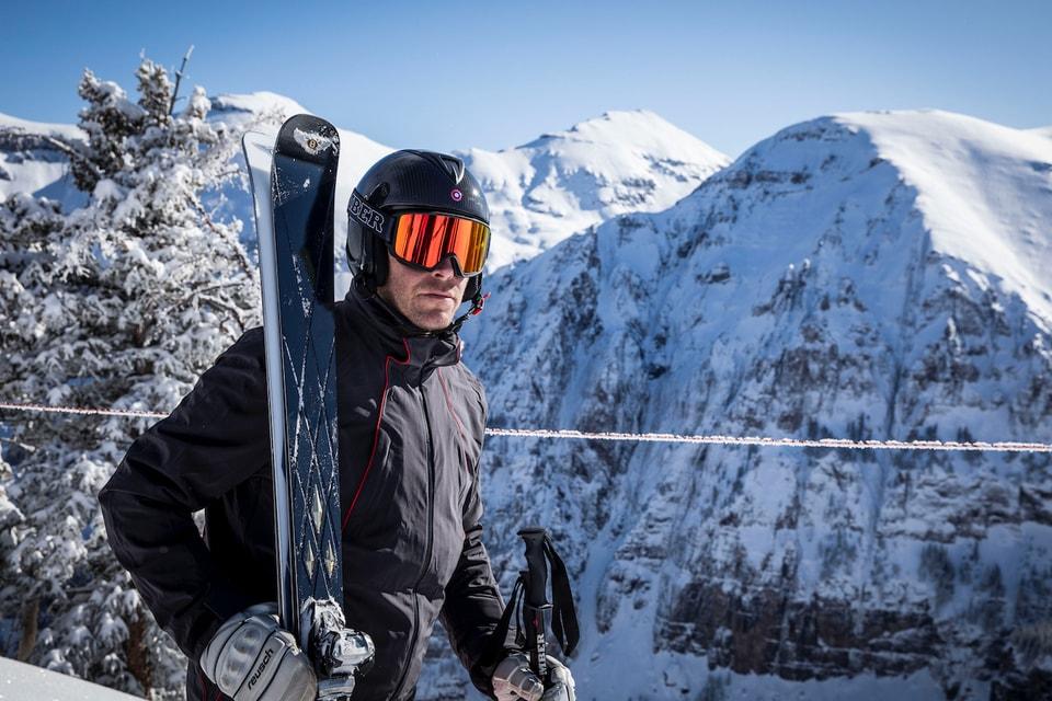 Bomber Ski & Bentley Motors Unveil Skis With 24-Karat Gold Inserts