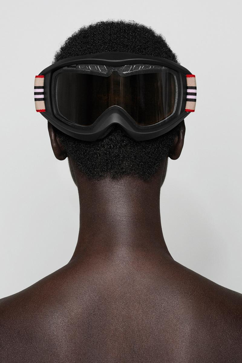 "Burberry B Series Ski Goggles ""Icon Stripe"" Release Information Closer Look Drop Riccardo Tisci Winter 2019 Accessories Headwear Glasses Instagram December 17 Limited Edition"