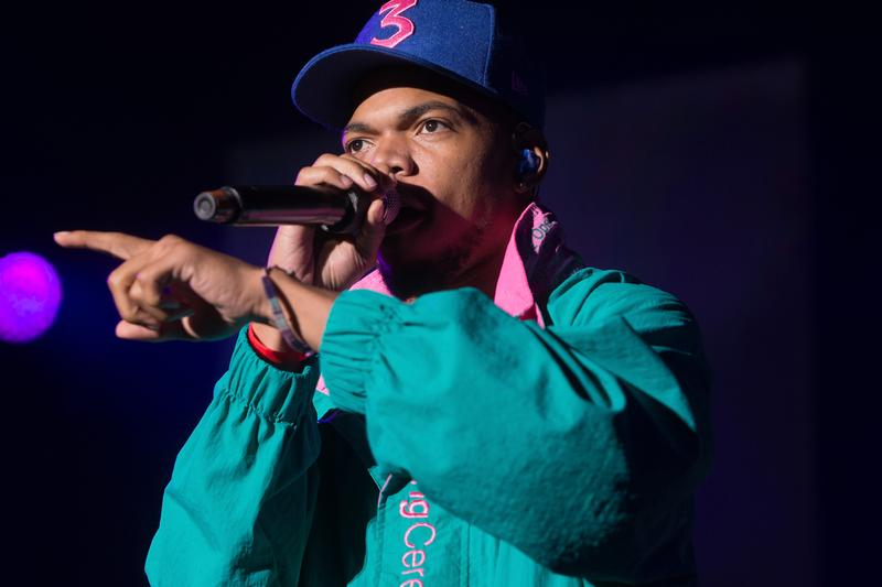 """Chance the Rapper Cancels 2020 """"The Big Tour"""" hip-hop artist cancellation announcement I love my wife"""