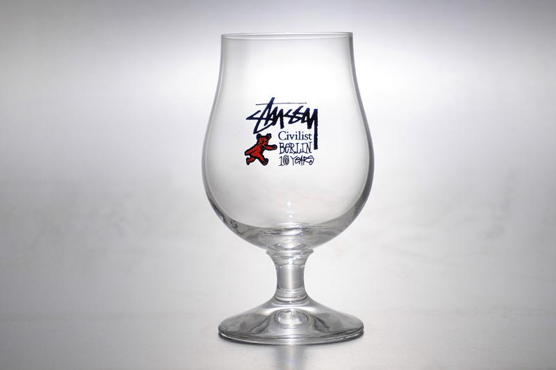 stussy civilist berlin traditional german beer glass 10 10th anniversary buy cop purchase release information collaboration store