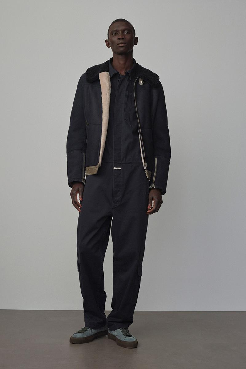 Nigel Cabourn x Closed Fall/Winter 2020 Collection Pitti Immagine Uomo 97 Navy Military Knits Outerwear Jackets Pants Denim Green Black Beige Gray