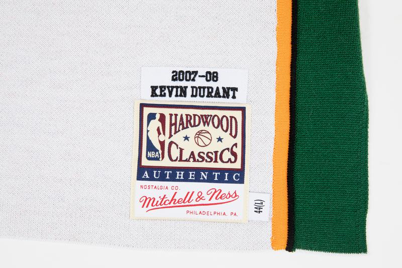 clot mitchell and ness allen iverson kevin durant philadelphia 76ers sixers seattle supersonics jersey shooting shirt release date info photos price