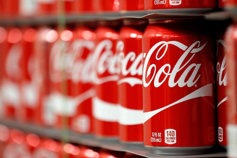 Coca-Cola Cans Red White Beverage Soda