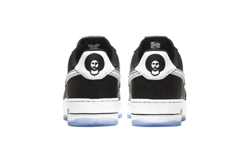 """Colin Kaepernick x Nike AF1 """"True to 7"""" Official Look air force 1 Official Look release date drop info christmas eve day full size run kids grade school gs true to 7 black leather"""