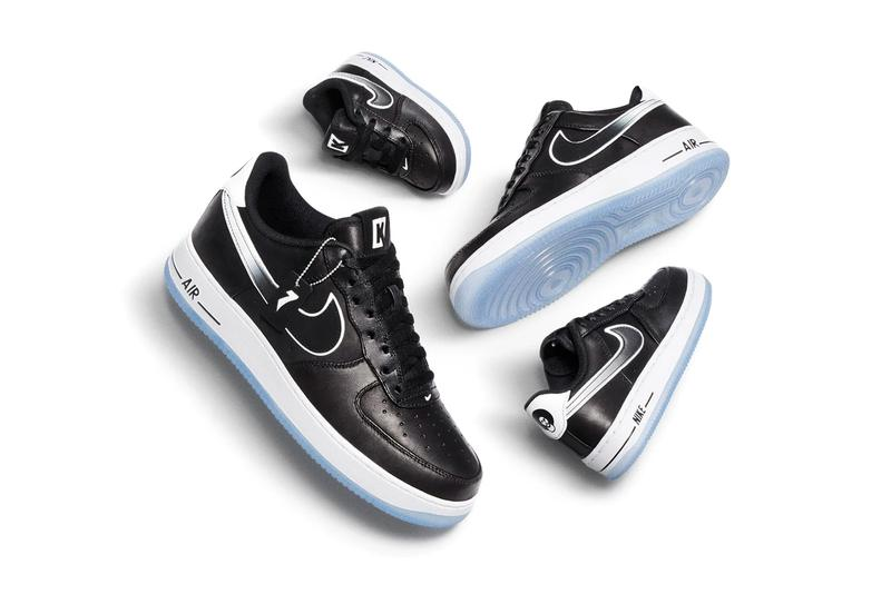 "Colin Kaepernick x Nike AF1 ""True to 7"" Official Look air force 1 Official Look release date drop info christmas eve day full size run kids grade school gs true to 7 black leather"