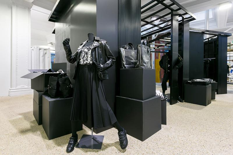 comme des garcons black market dsm dover street market london release information buy cop purchase kuwahara gucci burberry collaborations lewis leathers casio porter buy cop purchase