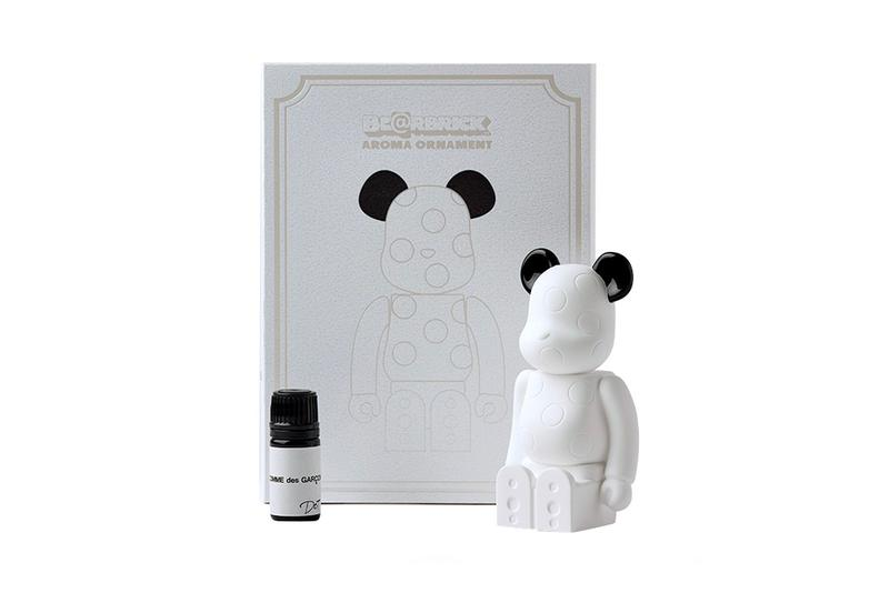 COMME des GARCONS Medicom Toy BEARBRICK Aroma Ornament figures toys diffuser parfums toymaker japanese rei Kawakubo dover street market bibliotechque blanche accessories
