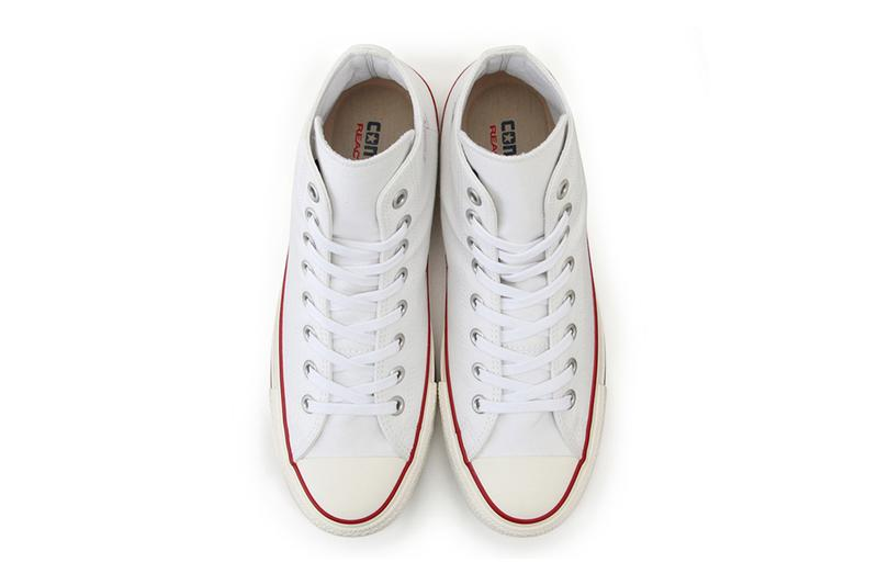 Converse Splitlogo All Star 100 Hi Tops Shoes runner kicks footwear trainers chuck taylor all star 70s nike deconstructed tencel react midsole eco friendly active heritage japanese