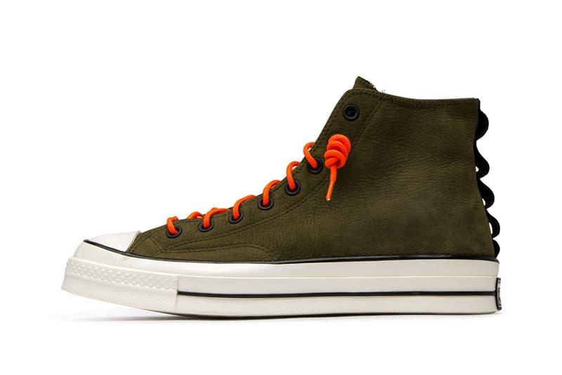 converse chuck 70 surplus olive black egret orange 165998C 165999C release date info photos price