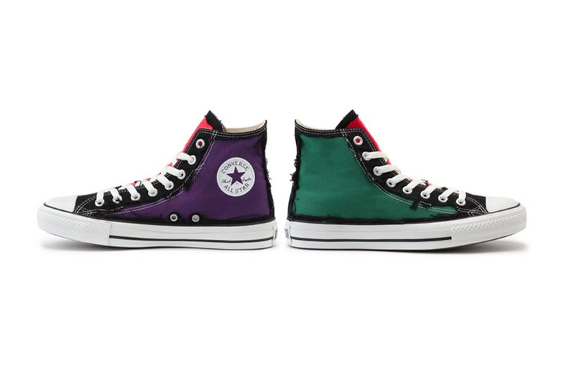 Converse Japan All Stay RIPLAYER Hi footwear shoes sneakers kicks runners trainers rip diy customiazable lower layer chuck taylor mint sachs pink purple green canvas hi tops chuckz