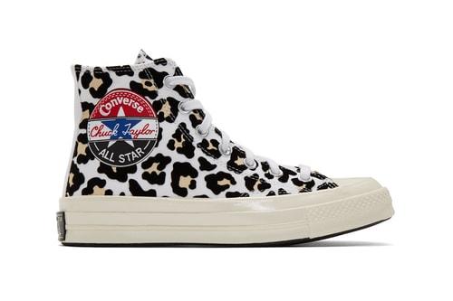 "Converse Drops Leopard-Clad Chuck 70 ""Logo Play"" All-Stars"