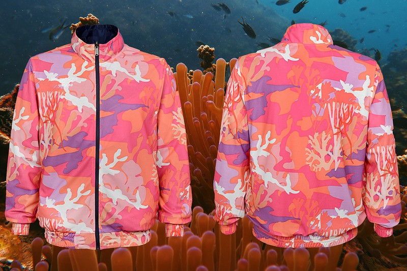 Coral Studio Teams Up with Umbro on Coral-Clad Kit for Art Basel Miami