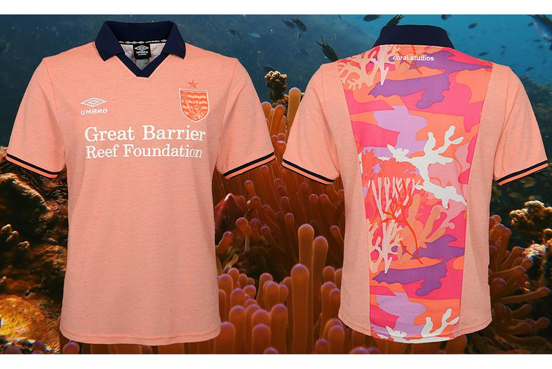 Coral Studio Umbro Football Kit Art Basel Miami collaboration nyc creative studio iconic sportswear pop-up activation