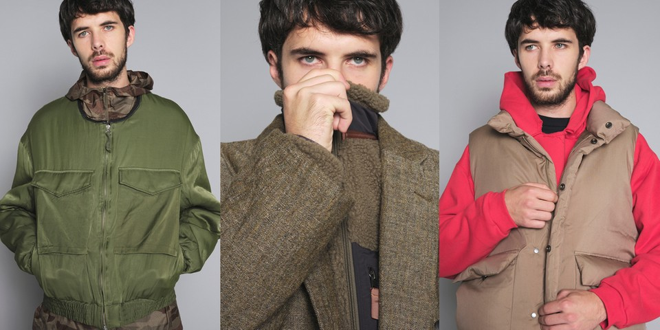 COVERCHORD Presents Cozy Layered Looks in Winter 2019 Lookbook