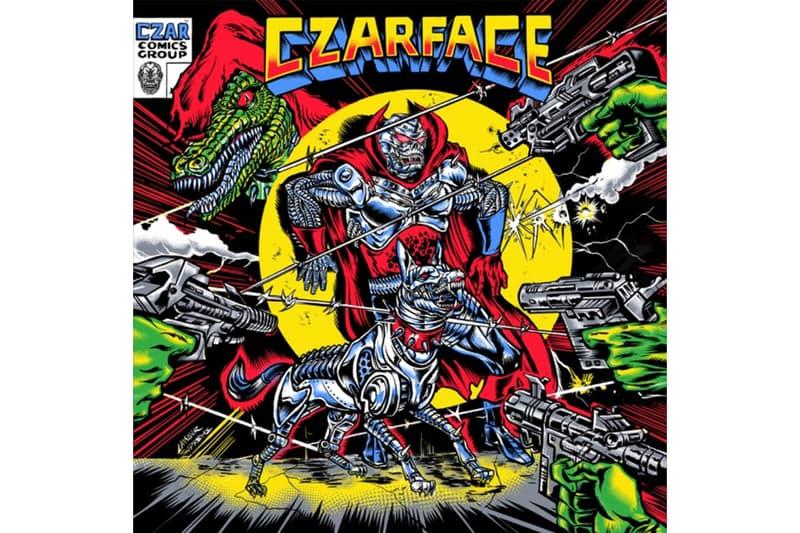CZARFACE 'The Odd Czar Against Us' Album Stream DJ 7L Esoteric new york hip-hop rap boom bap old school sound listen now spotify apple music Inspectah Deck wu-tang