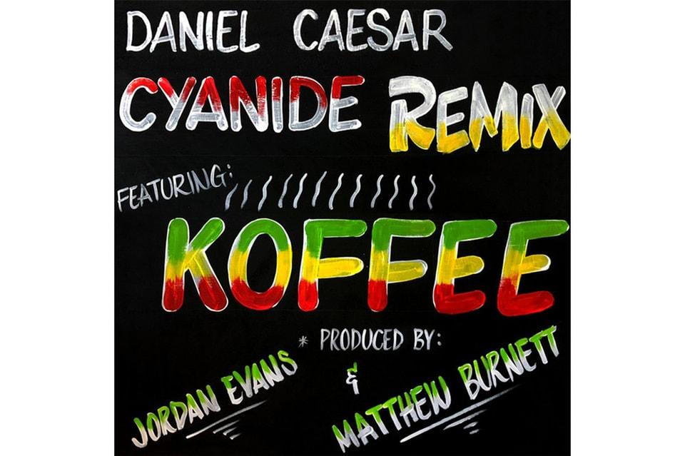 Daniel Caesar Koffee Release Cyanide Remix Video Hypebeast