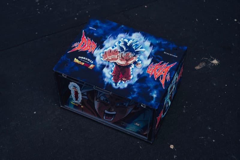 DBRukia 'Dragon Ball Super' Shoe Box Series Release ssj super saiyan akira Toriyama goku