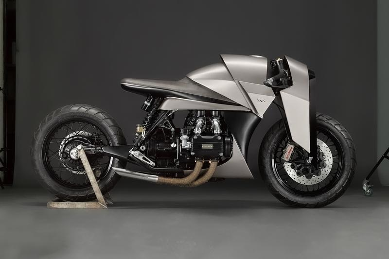 Death Machines of London custom bespoke motorcycles workshop 1000 cc 1977 honda gold wing gl1000 kenzo tada