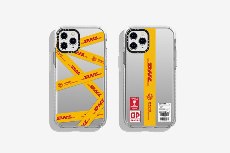 DHL CASETiFY 50th Anniversary Collection Release Drop 2 Info Bags T shirt Apple Iphone Airpods Charger Watch Yellow Red