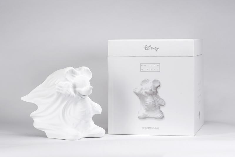 daniel arsham disney mickey mouse collaborative figures apportfolio exclusive innersect shanghai fair