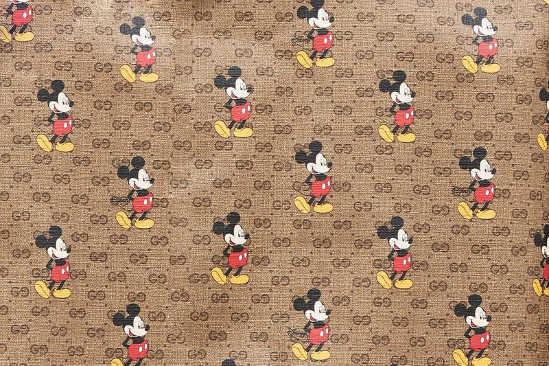 Disney x Gucci Mickey Mouse Chinese New Year Collaboration year of the rat coat shirt embroidery pattern print applique