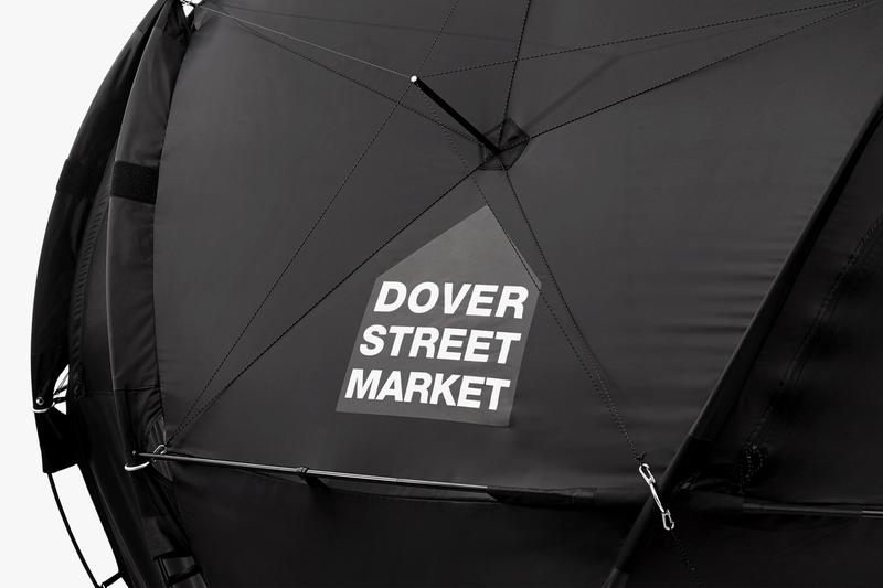 The North Face for DSM London Part 2 Black Capsule release date info dover street market denali jacket pants geodome tent raffle