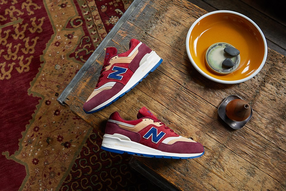 "END. Clothing Reworks New Balance's 997 Made in USA With ""Persian Rug"" Inspiration"