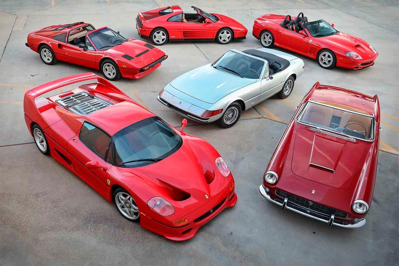gooding company scottsdale auction ferrari vintage spyder collection pininfarina collector