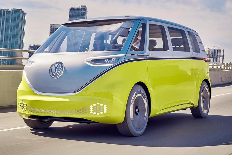 Autonomous Volkswagen I.D. Buzz Fleet to Drive at Doha FIFA World Cup 2022 Self Driving Cars Buses Shuttles VW Camper Van Caddy Football Soccer Cars